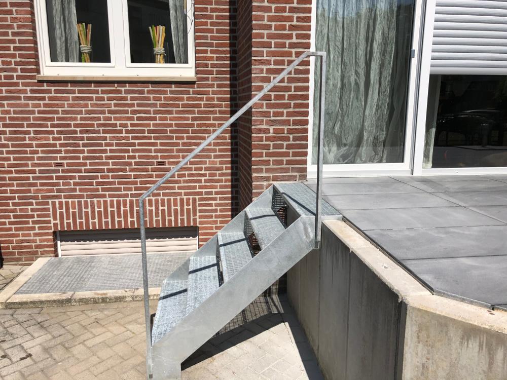 Treppenanlage Metalltreppe Münster Metallbau