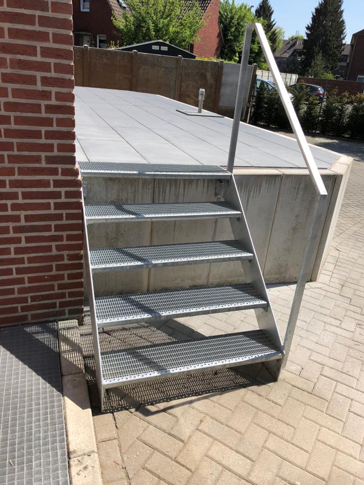 Metalltreppe Metallbau Münster Treppenanlage